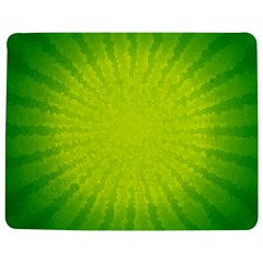 Radial Green Crystals Crystallize Jigsaw Puzzle Photo Stand (Rectangular)