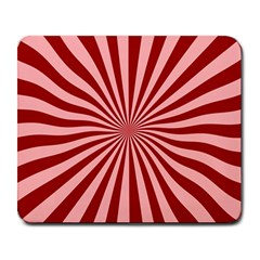 Sun Background Optics Channel Red Large Mousepads