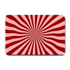 Sun Background Optics Channel Red Small Doormat