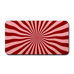 Sun Background Optics Channel Red Medium Bar Mats