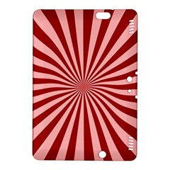 Sun Background Optics Channel Red Kindle Fire HDX 8.9  Hardshell Case