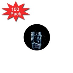 Glass Water Liquid Background 1  Mini Buttons (100 pack)