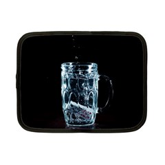 Glass Water Liquid Background Netbook Case (Small)