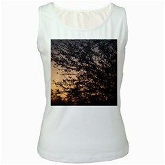 Arizona Sunset Women s White Tank Top