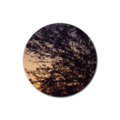 Arizona Sunset Rubber Round Coaster (4 pack)