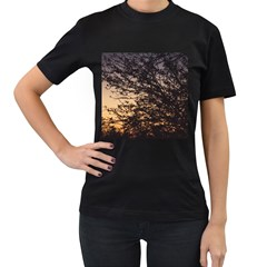Arizona Sunset Women s T-Shirt (Black)