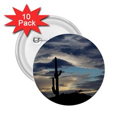 Cactus Sunset 2.25  Buttons (10 pack)