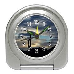 Cactus Sunset Travel Alarm Clocks