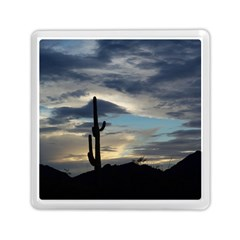 Cactus Sunset Memory Card Reader (Square)