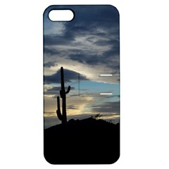 Cactus Sunset Apple iPhone 5 Hardshell Case with Stand
