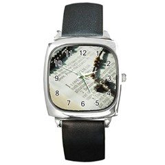 I love The Lord Square Metal Watch