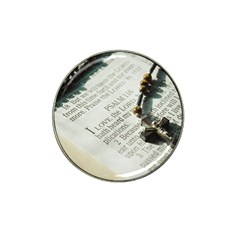 I love The Lord Hat Clip Ball Marker (4 pack)