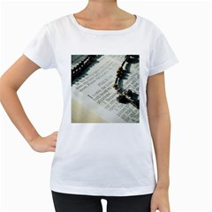 I love The Lord Women s Loose-Fit T-Shirt (White)