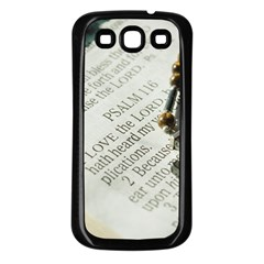 I love The Lord Samsung Galaxy S3 Back Case (Black)