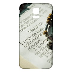 I love The Lord Samsung Galaxy S5 Back Case (White)