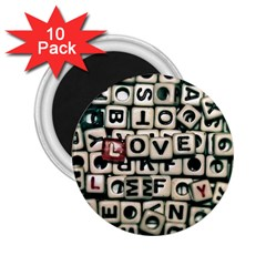 Love 2.25  Magnets (10 pack)