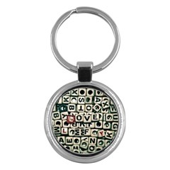 Love Key Chains (Round)