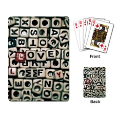 Love Playing Card