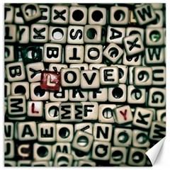 Love Canvas 12  x 12
