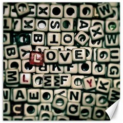 Love Canvas 16  x 16