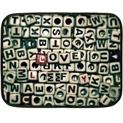 Love Fleece Blanket (Mini)