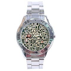 Love Stainless Steel Analogue Watch
