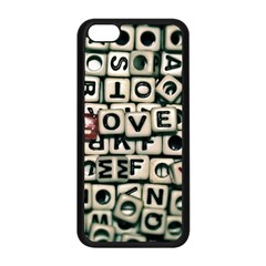 Love Apple iPhone 5C Seamless Case (Black)