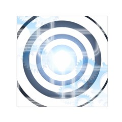 Center Centered Gears Visor Target Small Satin Scarf (Square)