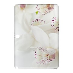 Orchids Flowers White Background Samsung Galaxy Tab Pro 10.1 Hardshell Case