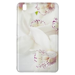Orchids Flowers White Background Samsung Galaxy Tab Pro 8.4 Hardshell Case
