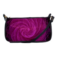 Purple Background Scrapbooking Abstract Shoulder Clutch Bags