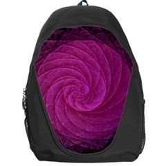 Purple Background Scrapbooking Abstract Backpack Bag
