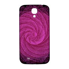 Purple Background Scrapbooking Abstract Samsung Galaxy S4 I9500/I9505  Hardshell Back Case