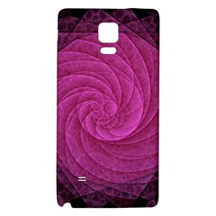 Purple Background Scrapbooking Abstract Galaxy Note 4 Back Case