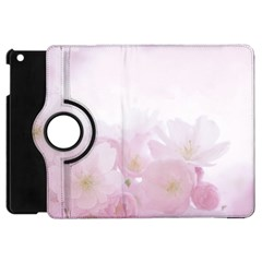 Pink Blossom Bloom Spring Romantic Apple iPad Mini Flip 360 Case