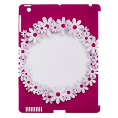 Photo Frame Transparent Background Apple iPad 3/4 Hardshell Case (Compatible with Smart Cover)