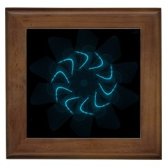 Background Abstract Decorative Framed Tiles
