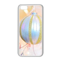 Sphere Tree White Gold Silver Apple iPhone 5C Seamless Case (White)