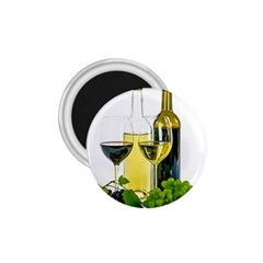 White Wine Red Wine The Bottle 1.75  Magnets