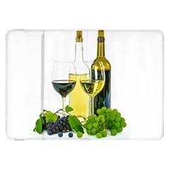 White Wine Red Wine The Bottle Samsung Galaxy Tab 8.9  P7300 Flip Case