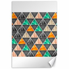 Abstract Geometric Triangle Shape Canvas 20  x 30