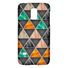 Abstract Geometric Triangle Shape Galaxy S5 Mini