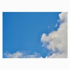 Air Sky Cloud Background Clouds Large Glasses Cloth (2-Side)