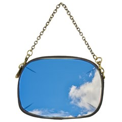 Air Sky Cloud Background Clouds Chain Purses (Two Sides)