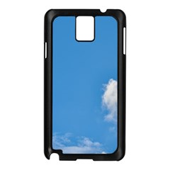 Air Sky Cloud Background Clouds Samsung Galaxy Note 3 N9005 Case (Black)