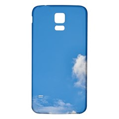 Air Sky Cloud Background Clouds Samsung Galaxy S5 Back Case (White)
