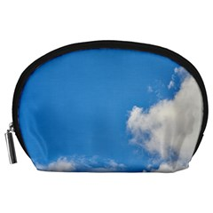 Air Sky Cloud Background Clouds Accessory Pouches (Large)
