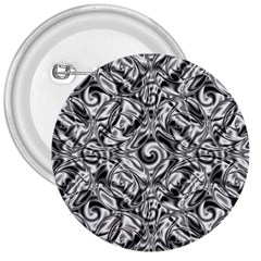 Gray Scale Pattern Tile Design 3  Buttons