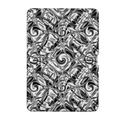Gray Scale Pattern Tile Design Samsung Galaxy Tab 2 (10.1 ) P5100 Hardshell Case
