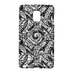 Gray Scale Pattern Tile Design Galaxy Note Edge